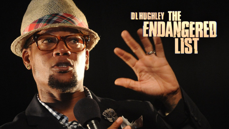DL HUGHLEY: THE ENDANGERED LIST - BUY IT ON CC:STAND-UP DIRECT