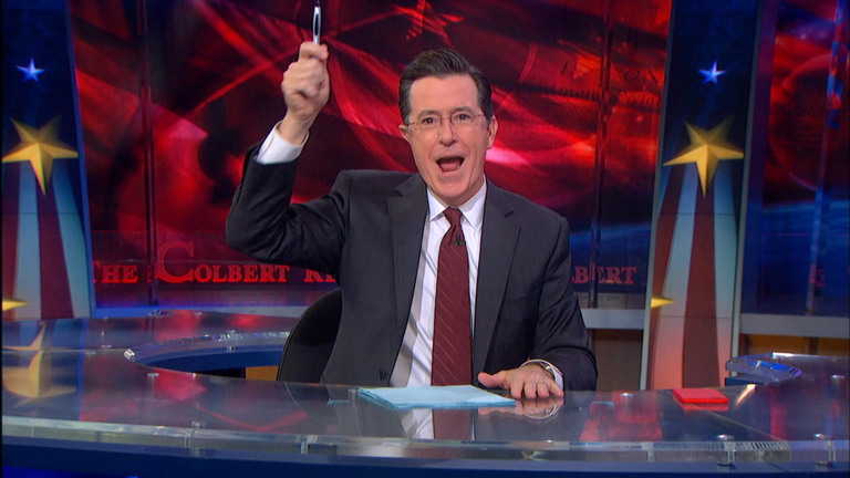 THE HOLIEST DAY OF THE YEAR - THE COLBERT REPORT DIVES INTO BLACK FRIDAY